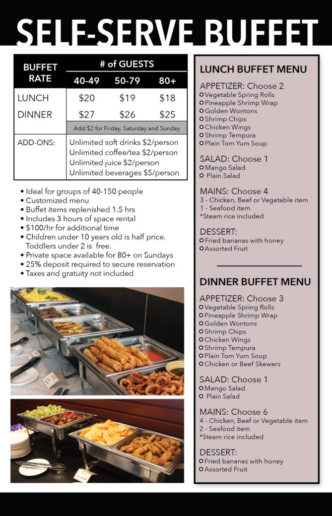 catering price list4