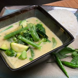 Green Curry Vegetable