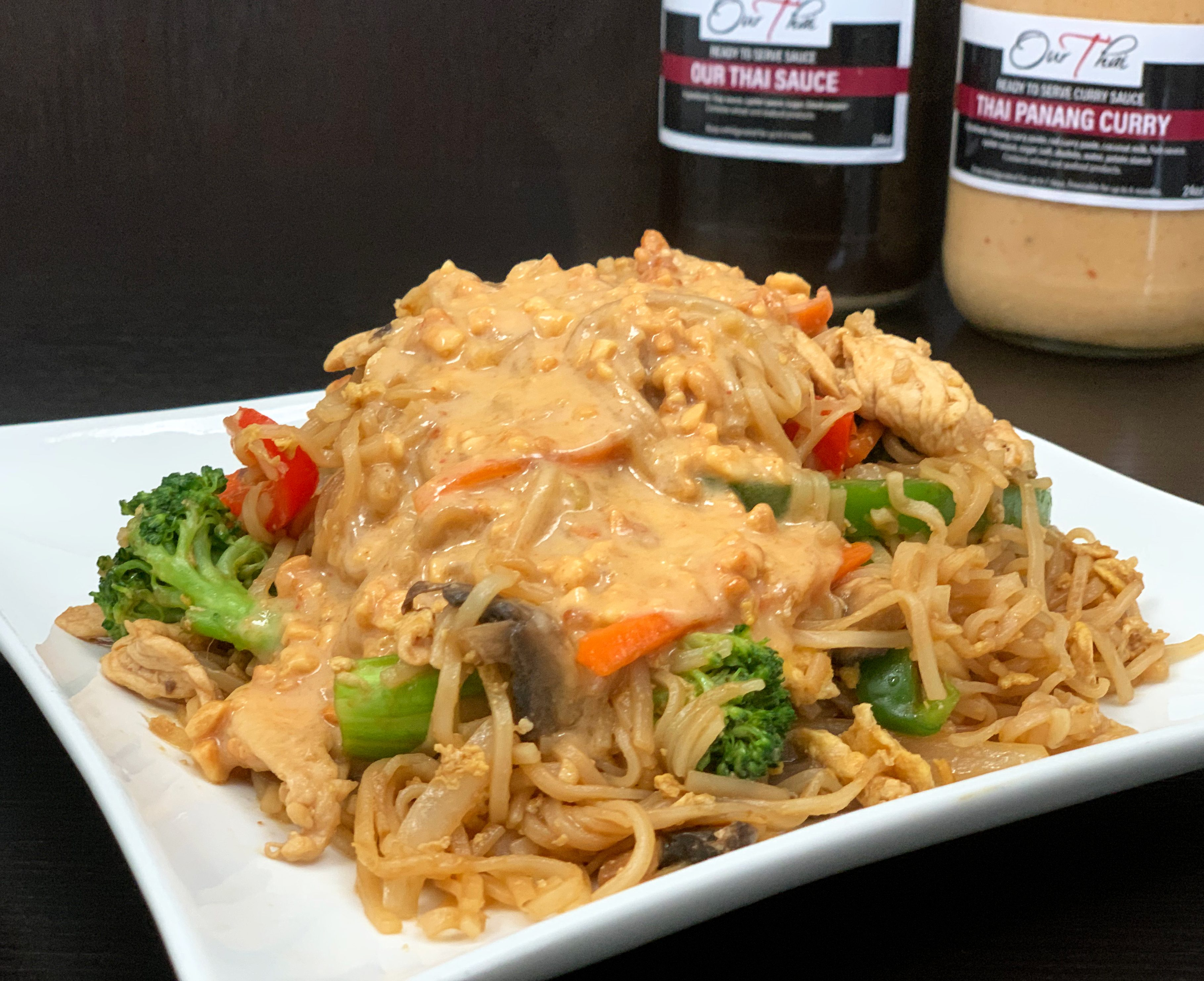 Panang Noodle          Chicken