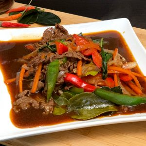Our Thai Spicy Experience Beef